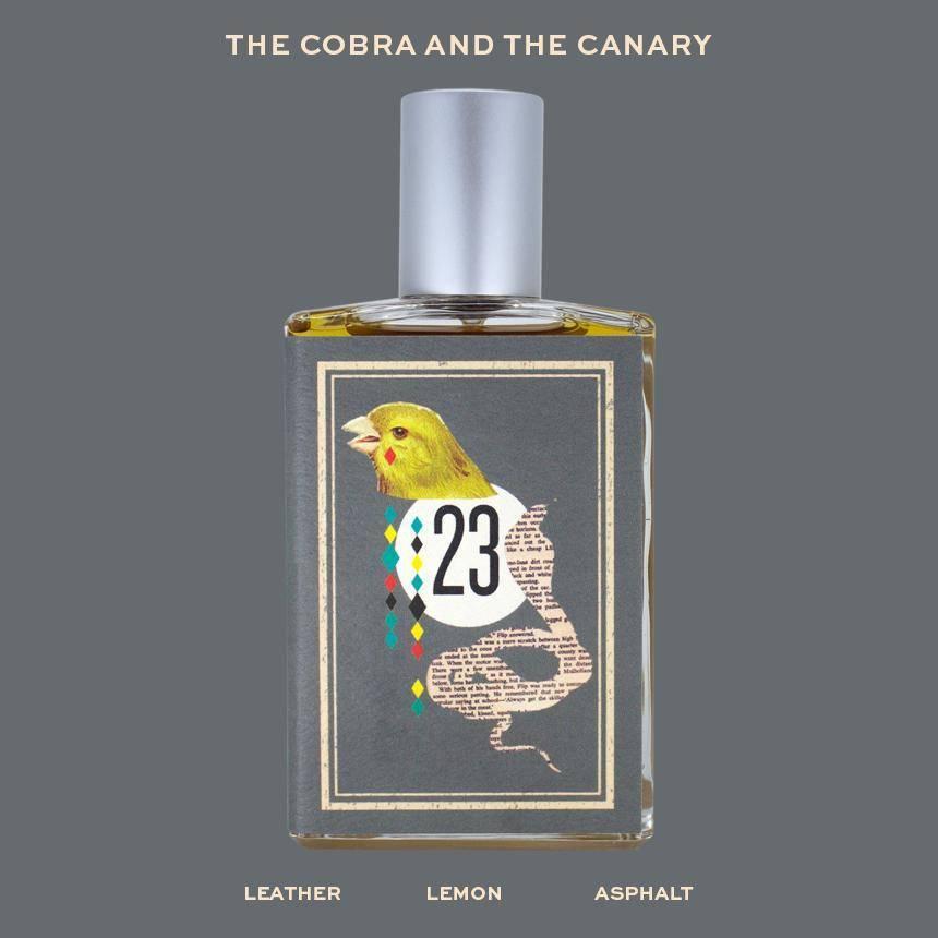 imaginary authors the cobra & the canary
