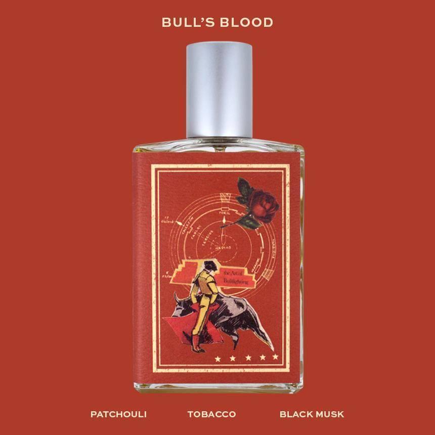 imaginary authors bull's blood